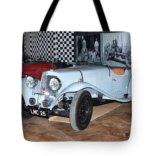 1934 Aston Martin 1.5 Liter Mk. II Tote Bag
