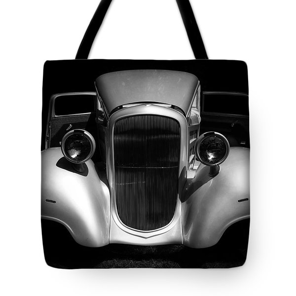 Tote Bag featuring the photograph 1934 Chevrolet 3 Window Coupe by Ben Shields