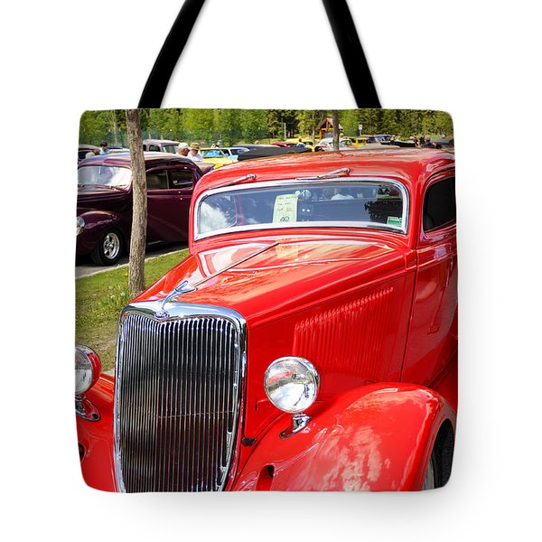 1934 Ford Classic Car Tote Bag