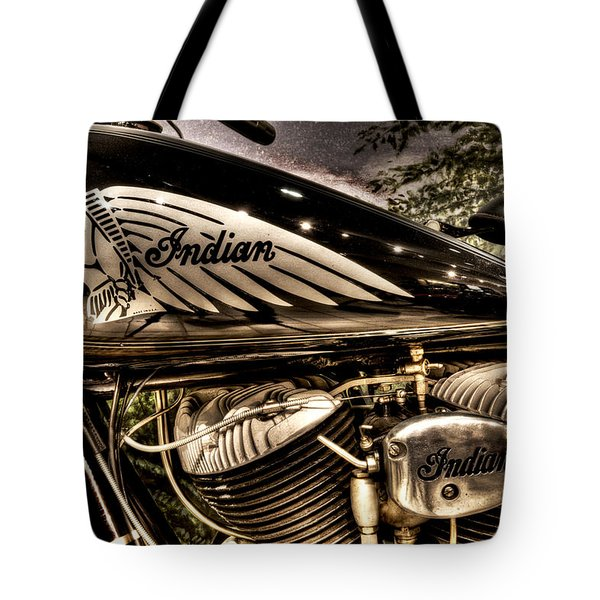 1934 Indian Chief Tote Bag
