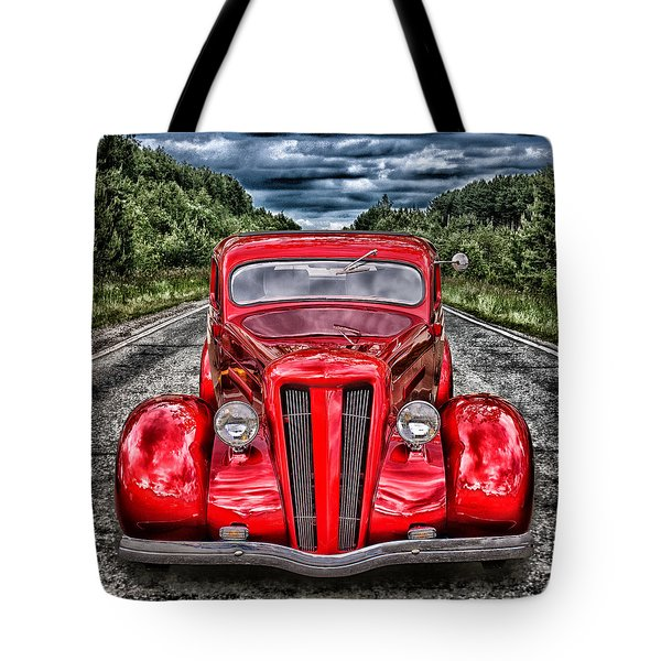 1935 Ford Window Coupe Tote Bag