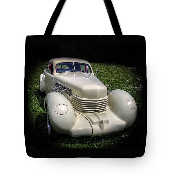 Tote Bag featuring the photograph 1936 Cord Automobile by Thom Zehrfeld