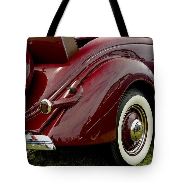 1936 Ford Phaeton Tote Bag by James C Thomas