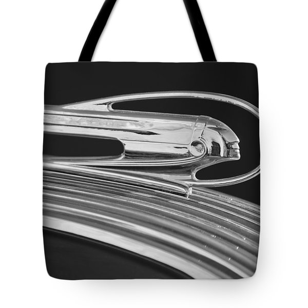 1936 Pontiac Hood Ornament 5 Tote Bag by Jill Reger