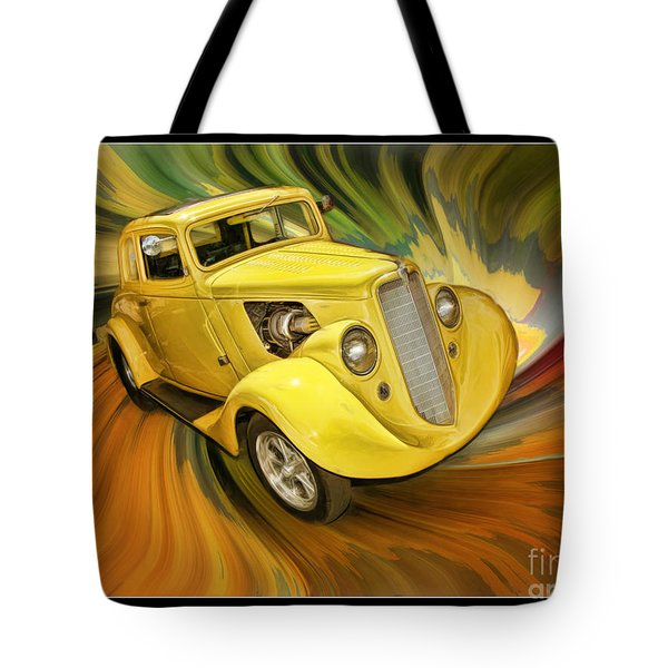 1936 Willys Tote Bag