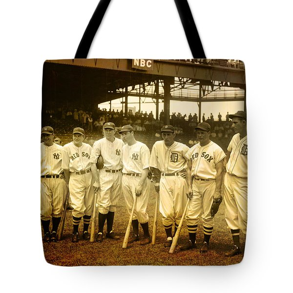 1937 All Stars Tote Bag by EricaMaxine  Price