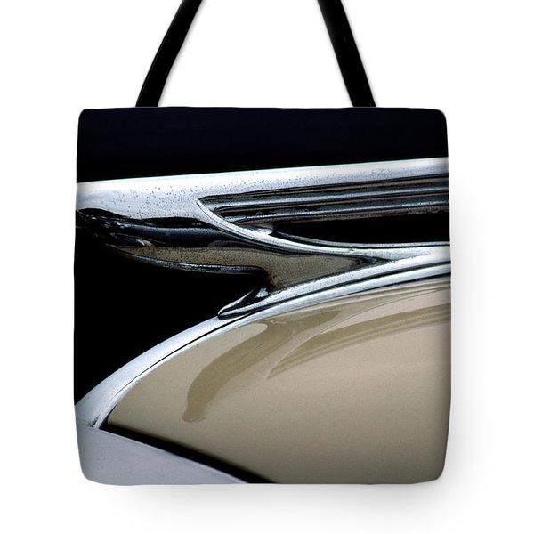 1937 Chevrolet Hood Ornament Tote Bag