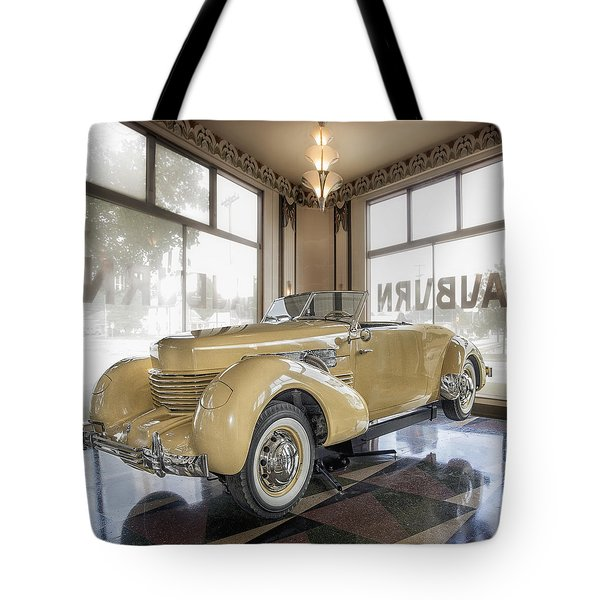 1937 Cord 812 Tote Bag by Gary Warnimont