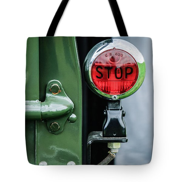 1937 Ford Pickup Truck Taillight Tote Bag