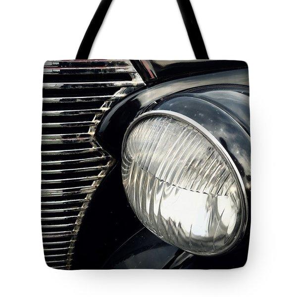 Tote Bag featuring the photograph 1938 Chevrolet Deluxe Sedan by Joseph Skompski