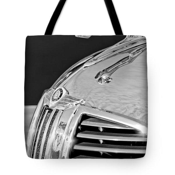 1938 Dodge Ram Hood Ornament 4 Tote Bag by Jill Reger