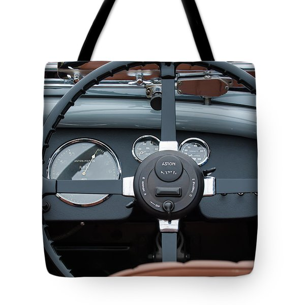 1939 Aston Martin 15-98 Abbey Coachworks Swb Sports Steering Wheel Tote Bag