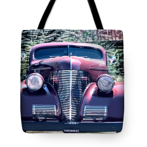 1939 Chevy Immenent Front Original Tote Bag by Lesa Fine