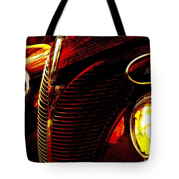 1939 Ford Tote Bag