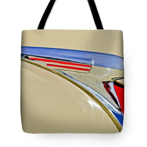 1940 Chevrolet Pickup Hood Ornament 2 Tote Bag