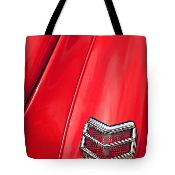 1940 Ford Deluxe Coupe Taillight Tote Bag