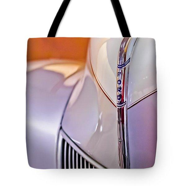 1940 Ford Hood Ornament Tote Bag