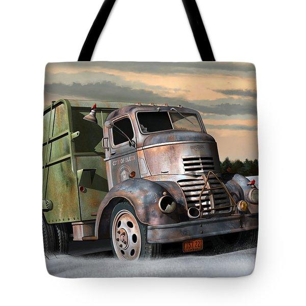 1940 Gmc Garbage Truck Tote Bag
