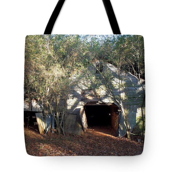 Tote Bag featuring the photograph 1940's Barn by Pete Trenholm