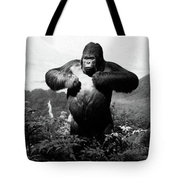 1940s Stuffed Gorilla Gorilla Gorilla Tote Bag