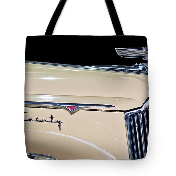 1941 Packard Hood Ornament Tote Bag by Jill Reger