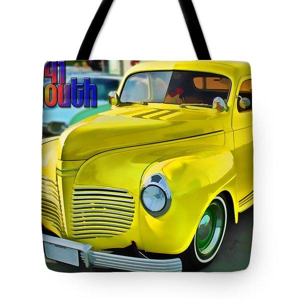1941 Plymouth Tote Bag