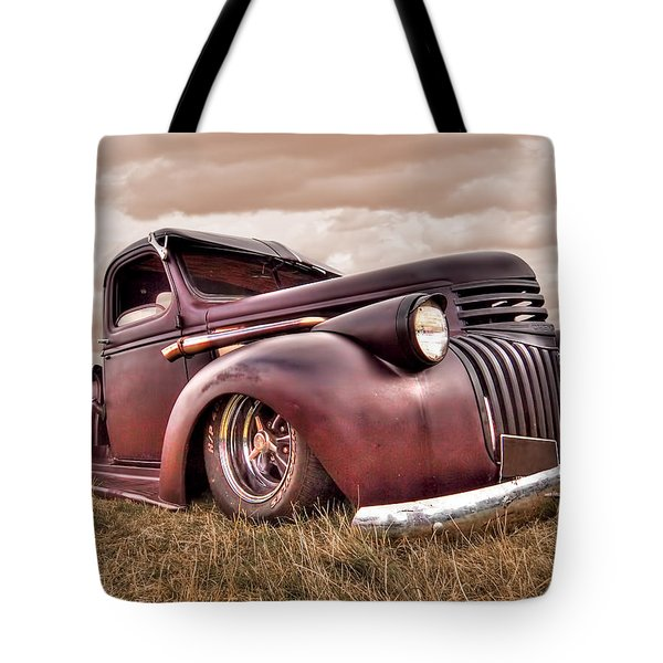 1941 Rusty Chevrolet Tote Bag