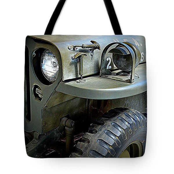 1942 Ford U.s. Army Jeep Ll Tote Bag