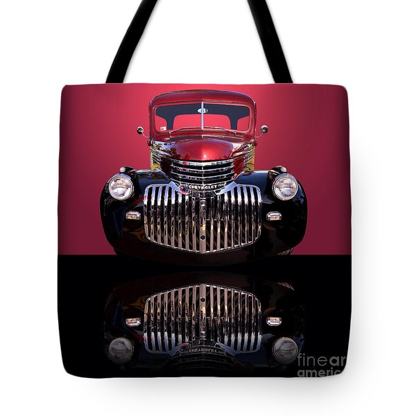 1946 Chevy Panel Truck Tote Bag