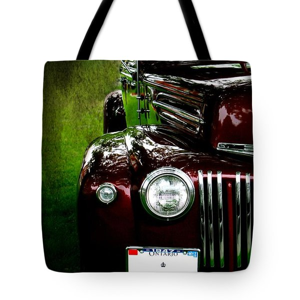 1947 Ford Tote Bag by Amanda Struz
