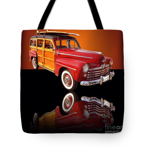 1947 Ford Woody Tote Bag