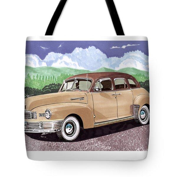 1947 Nash Statesman Tote Bag by Jack Pumphrey