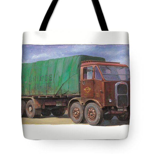 1947 Scammell R8 Tote Bag by Mike  Jeffries