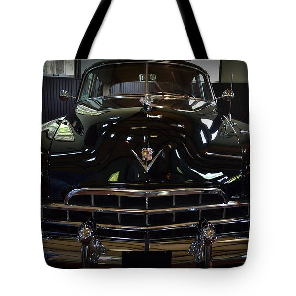 1948 Cadillac Front Tote Bag by Michelle Calkins