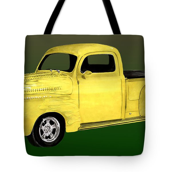 1948 Custom Ford Pick Up Tote Bag by Jack Pumphrey