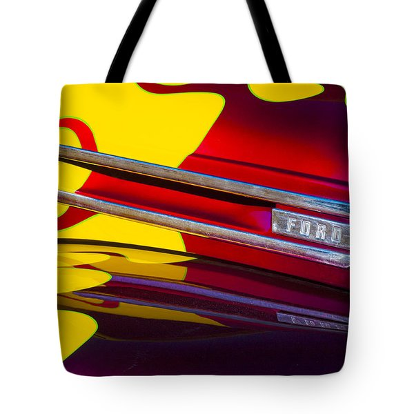 1948 Ford Panel Truck Tote Bag