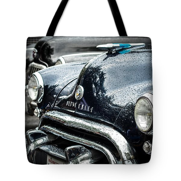 1948 Oldsmobile Dynamic Tote Bag by Ronda Broatch