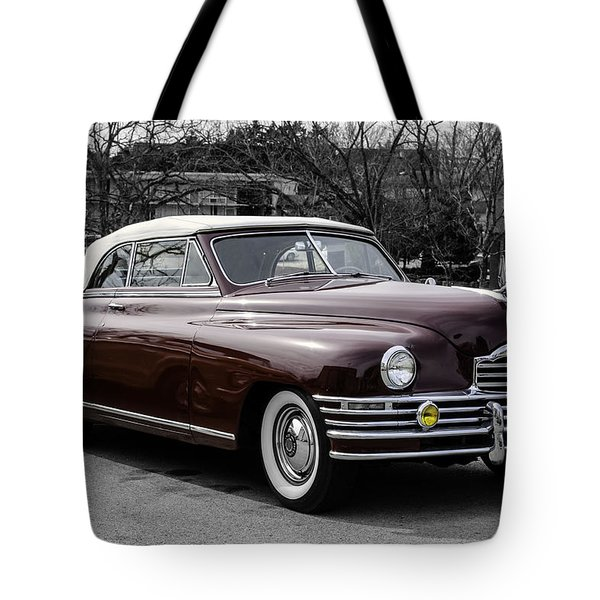 Tote Bag featuring the photograph 1948 Packard by Betty Denise