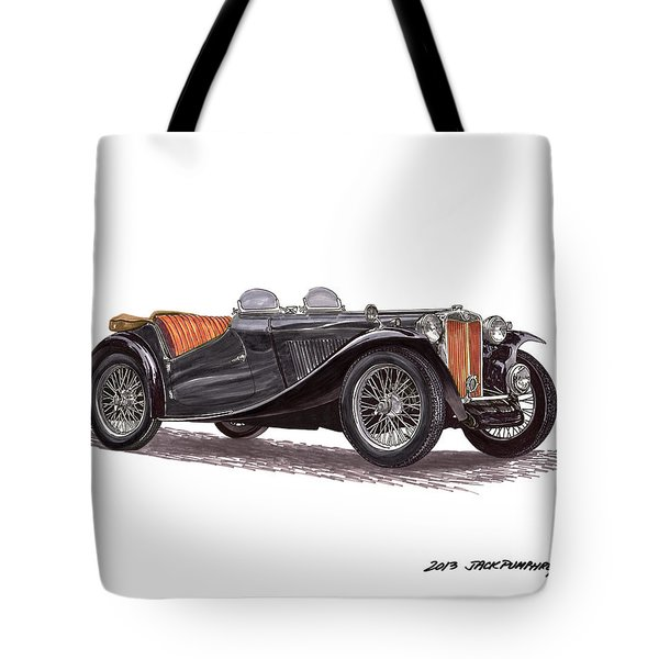 M G T C Tote Bag by Jack Pumphrey