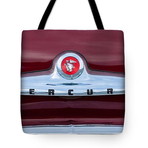 1949 Mercury Coupe Emblem Tote Bag