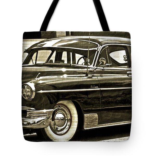 1950 Chevrolet Tote Bag by Gwyn Newcombe