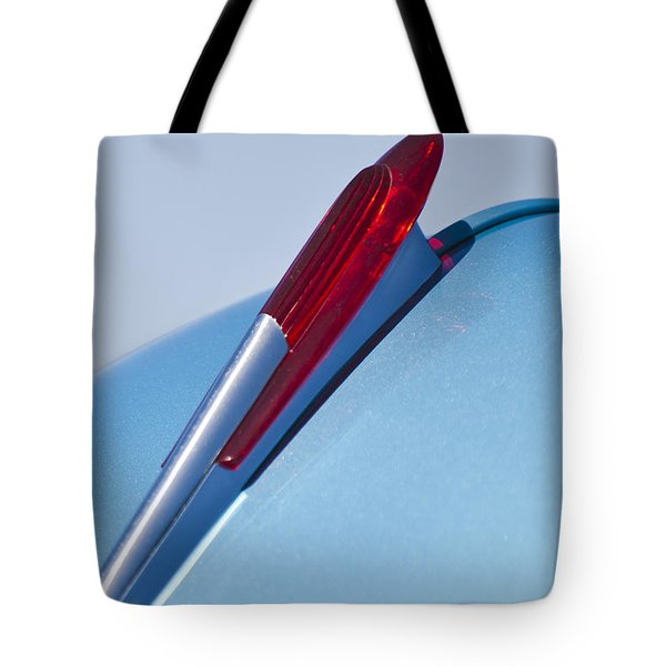 1950 Chevrolet Hood Ornament Tote Bag by Jill Reger