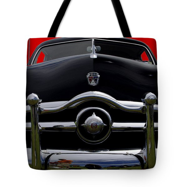 1950 Ford Automobile Tote Bag by James C Thomas