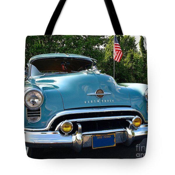 1950 Oldsmobile Tote Bag
