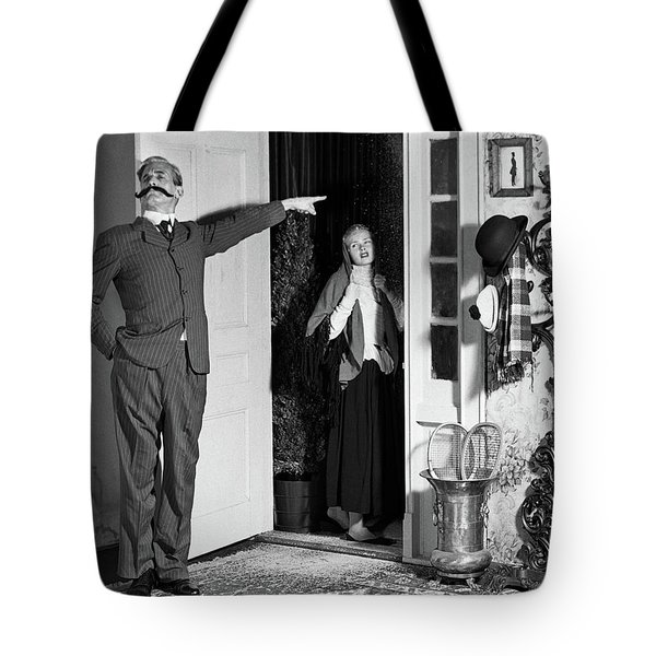 1950s Amateur Theater Turn Of The 20th Tote Bag
