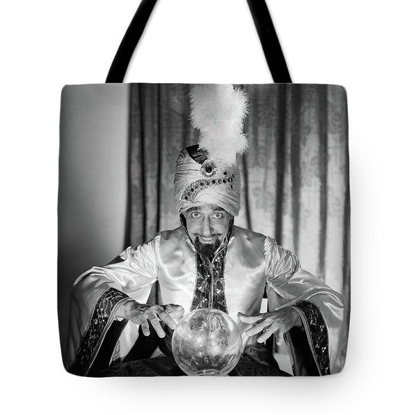 1950s Portrait Man Soothsayer Swami Tote Bag