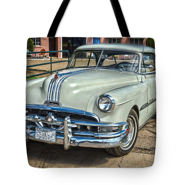 1951 Pontiac Chieftain Side View Tote Bag