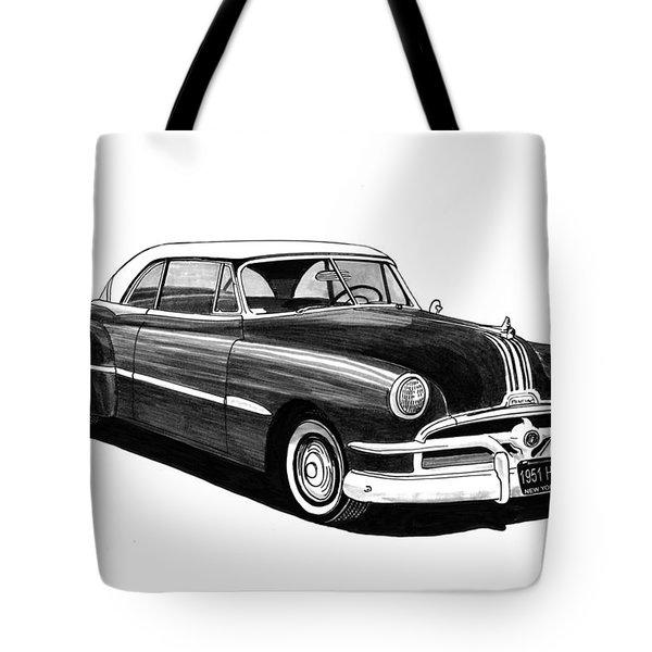 1951 Pontiac Hard Top Tote Bag by Jack Pumphrey