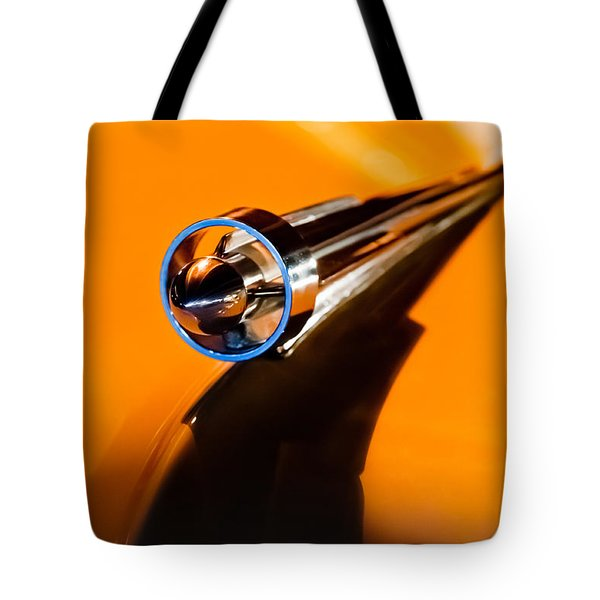 1951 Studebaker Pickup Truck Hood Ornament Tote Bag by Jill Reger