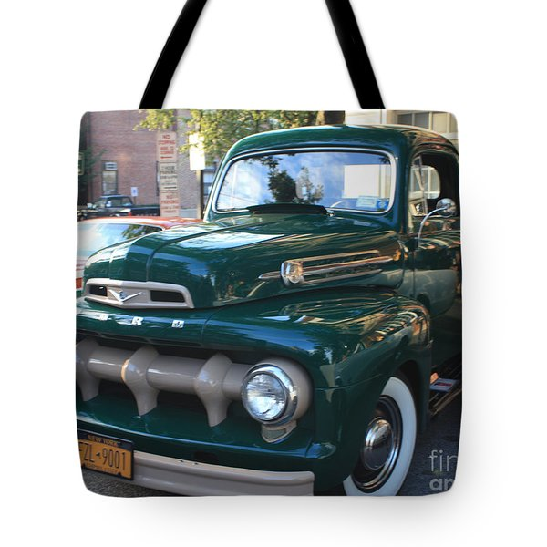 1952  Ford Pick Up Truck Front And Side View Tote Bag